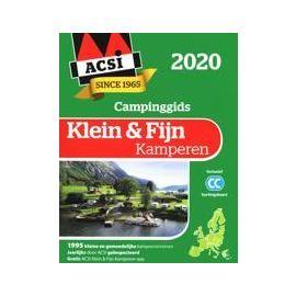 ACSI Klein & Fijn Kamperen Gids met app 2020