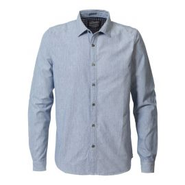 Petrol M-3090-SIL441 heren blouse