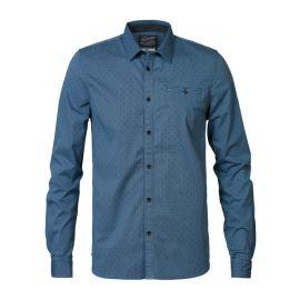 Petrol M-3090-SIL424 heren blouse