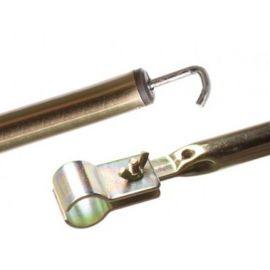 Dorema dakstang staal 28 mm 250-300 cm