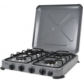 Kooktoestel 4 pits grijs beveiligd