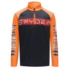 Spyder BOY'S PEAK ZIP T-NECK