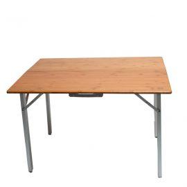 Defa Verstelbare bamboe tafel (140x72x70)