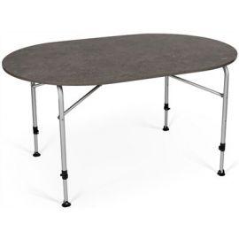 Zero Concrete Oval Table