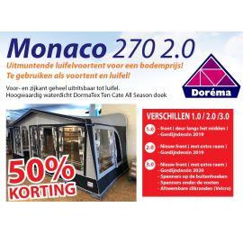 Dorema Monaco 270 2.0 DE LAATSTE MODELLEN !! OP=OP !!