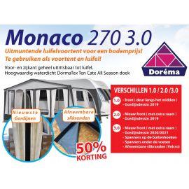 Dorema voortent Monaco 270 3.0