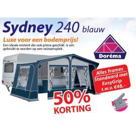 Dorema Sydney 240 Blauw