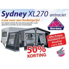 Dorema Sydney XL270 Antraciet