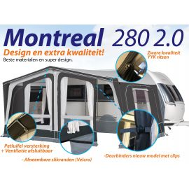 Dorema voortent Montreal 280 2.0