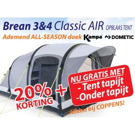 Kampa Dometic Opblaasbare Tunneltent Brean 4 Classic Air