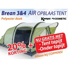 Kampa Dometic Opblaasbare Tunneltent Brean 4 Air