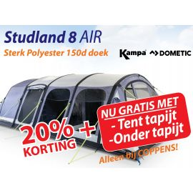 Kampa Dometic Opblaasbare Tunneltent Studland 8 Air