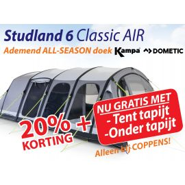 Kampa Dometic Opblaasbare Tunneltent Studland 6 Classic Air