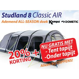 Kampa Dometic Opblaasbare Tunneltent Studland 8 Classic Air