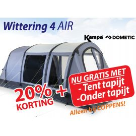 Kampa Dometic Opblaasbare Tunneltent Wittering 4 Air