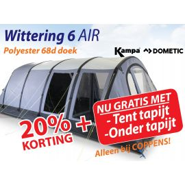 Kampa Dometic Opblaasbare Tunneltent Wittering 6 Air