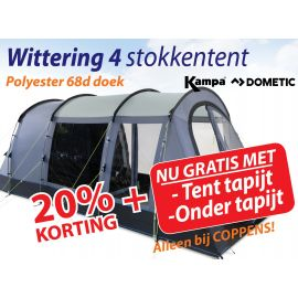Kampa Dometic Stokken Tunneltent Wittering 4