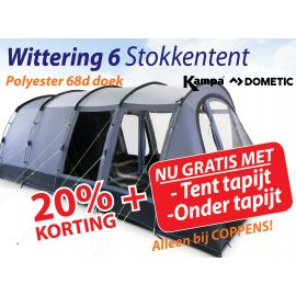 Kampa Dometic Stokken Tunneltent Wittering 6