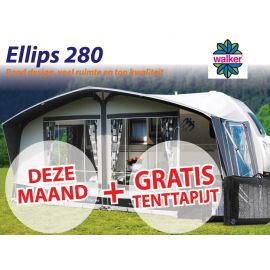 Walker Ellips 280 met Staal frame