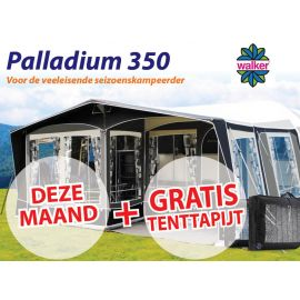 Walker Palladium 350 Easy Door met Staal frame