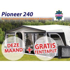 Walker Pioneer 240 All Season met Aluminium frame