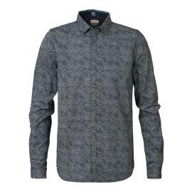 Petrol M-3090-SIL406 heren blouse
