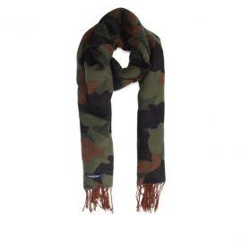 Haze&Finn Camo Khaki sjaal