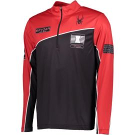 Spyder Limitless wengen zip t-neck shirt