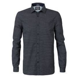 Petrol M-3090-SIL422 heren blouse