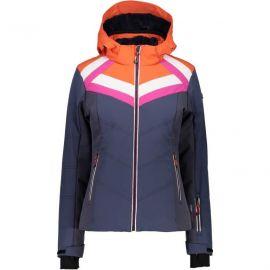 Woman Zip Hood Jacket Asphalt 48