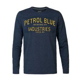 Petrol T-Shirt LS R-Neck heren trui