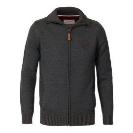 Petrol Knitwear Collar heren vest