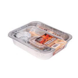 Li BBQ Grill & bereidingsset 9-dlg