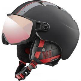 Julbo Sphere skihelm zwart rood
