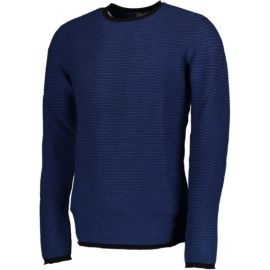 PETROL Men Knitwear Round Neck Basic Capri