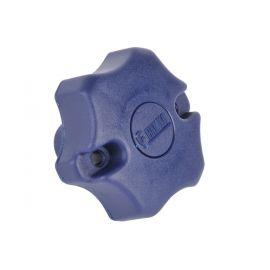 Draaiknop carrybike blauw
