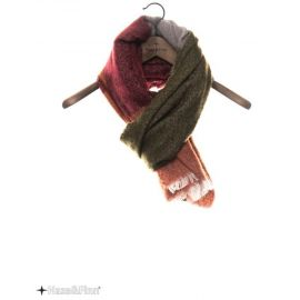 Haze&Finn Wide Stripe HotSauce sjaal