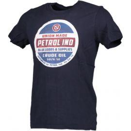 PETROL T-Shirt SS R-Neck Light Grey Melee