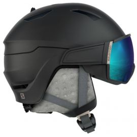 Salomon Mirage S Black skihelm