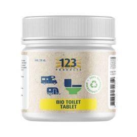 123Products Bio Toilet Tablet pot 20 st