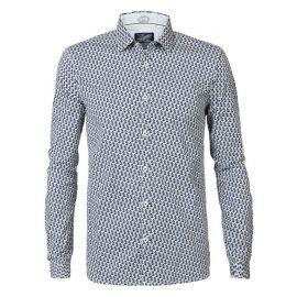 Petrol M-3090-SIL436 heren blouse