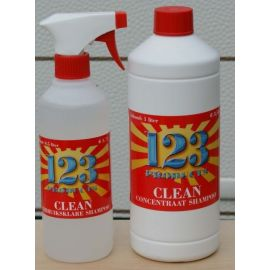 123 Product Clean concentraat shampoo