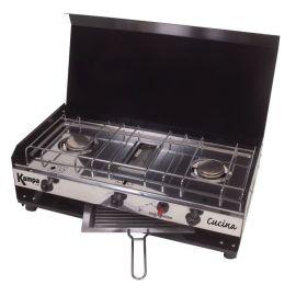 2 pits gaskomfoor + grill