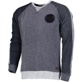 PETROL Men Sweater Round Neck Faded Indigo