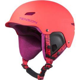 Tenson Park kinder skihelm roze