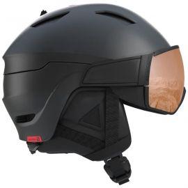 Salomon HELMET DRIVER S Black/Red Accent/UNIV