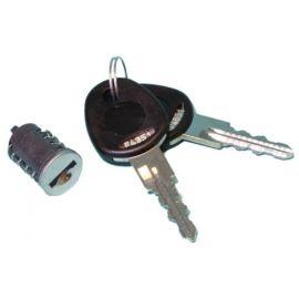 Slot+sleutel ->losse dop