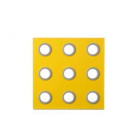 onderzetter domino - eos geel