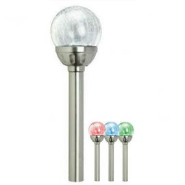 Solar light glass ball SS