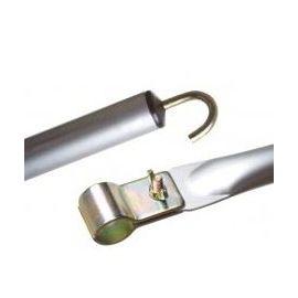 Dorema dakstang aluminium 28mm 250-300 cm